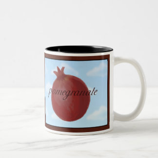 Surrealist Pomegranate Mug