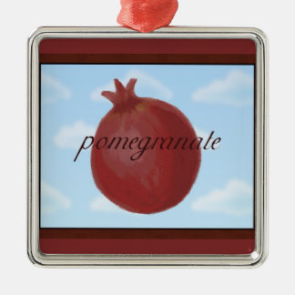 Surrealist Pomegranate Ornament