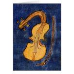 Surrealist violin