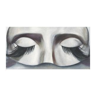 Surrealistic Carnival Mask Contemporary Wall Art