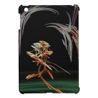 Surrealistic Flower Under a Melting Sky Fractal iPad Mini Case
