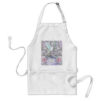 Surrealistic Rainforest Adult Apron