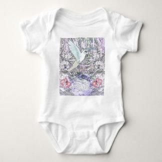 Surrealistic Rainforest Baby Bodysuit