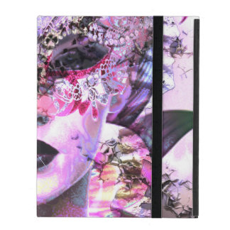 Surrealistic Woman with Mask iPad Folio Case
