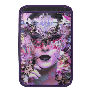 Surrealistic Woman with Mask MacBook Air Sleeve