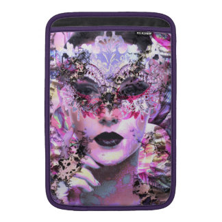 Surrealistic Woman with Mask Sleeve For MacBook Air
