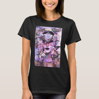 Surrealistic Women with Mask T-Shirt