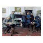 Surrender at Appomattox Postcard