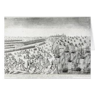 Surrender at Yorktown, 1781 Card