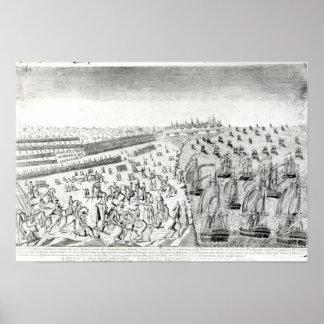 Surrender at Yorktown, 1781 Poster