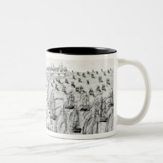 Surrender at Yorktown, 1781 Two-Tone Coffee Mug