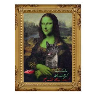 Surrender Dorrothy Mona Lisa postcard