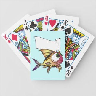 Surrender Fish Playing Cards