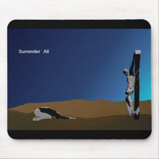 surrender_man mouse pad