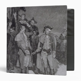 Surrender of Fort William and Mary 3 Ring Binder