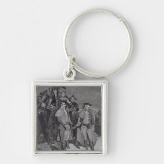 Surrender of Fort William and Mary Keychain