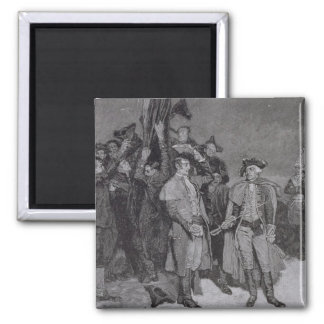 Surrender of Fort William and Mary Magnet