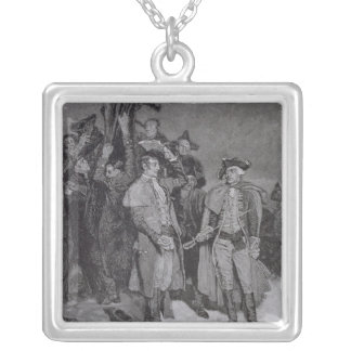 Surrender of Fort William and Mary Silver Plated Necklace