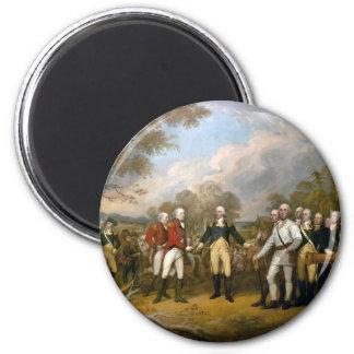 Surrender of General Burgoyne - 1822 2 Inch Round Magnet