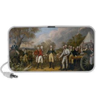 Surrender of General Burgoyne - 1822 Mini Speaker