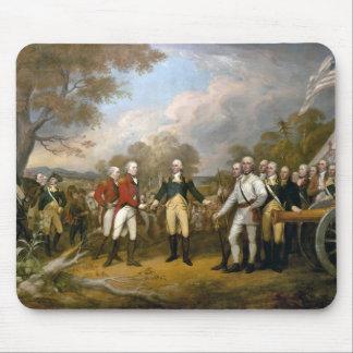 Surrender of General Burgoyne - 1822 Mouse Pad