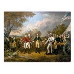 Surrender of General Burgoyne - 1822 Post Card