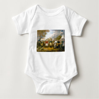 Surrender of General Burgoyne by John Trumbull Baby Bodysuit