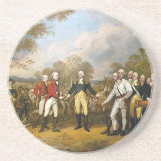 Surrender of General Burgoyne by John Trumbull Coaster