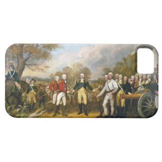 Surrender of General Burgoyne by John Trumbull iPhone SE/5/5s Case