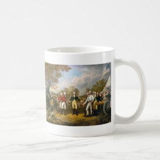 Surrender of General Burgoyne by John Trumbull Coffee Mug