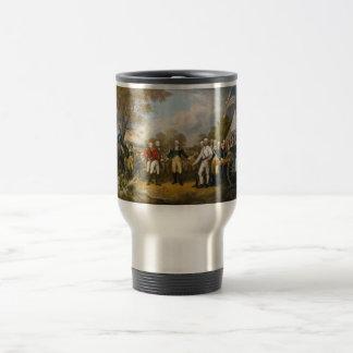 Surrender of General Burgoyne by John Trumbull Coffee Mugs