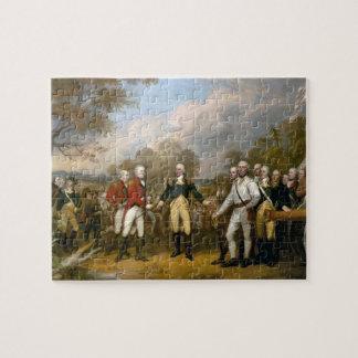 Surrender of General Burgoyne - Trumbull (1822) Jigsaw Puzzle
