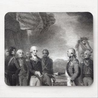 Surrender of Lord Cornwallis at Yorktown, 1781 Mouse Pad