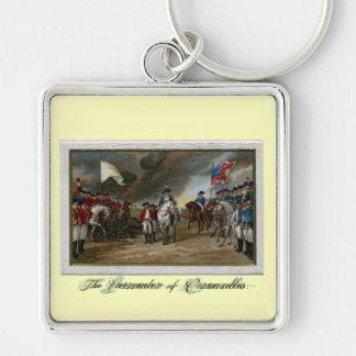 Surrender of Lord Cornwallis at Yorktown Keychain