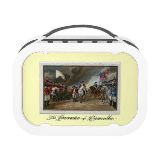 Surrender of Lord Cornwallis at Yorktown Lunchbox