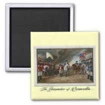 Surrender of Lord Cornwallis at Yorktown Magnet