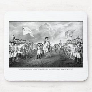 Surrender Of Lord Cornwallis At Yorktown Mouse Pad