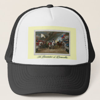 Surrender of Lord Cornwallis at Yorktown Trucker Hat