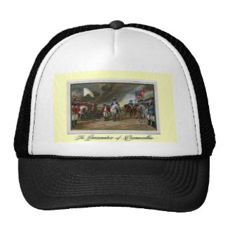 Surrender of Lord Cornwallis at Yorktown Trucker Hat