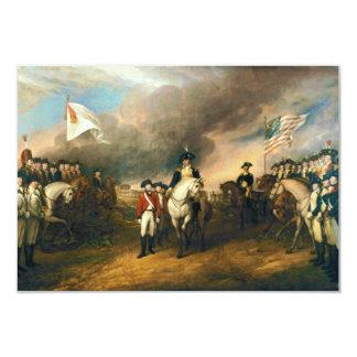 Surrender of Lord Cornwallis by John Trumbull 1820 Card