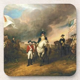 Surrender of Lord Cornwallis by John Trumbull 1820 Coaster