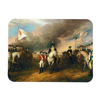 Surrender of Lord Cornwallis by John Trumbull 1820 Magnet