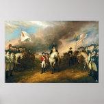 Surrender of Lord Cornwallis by John Trumbull 1820 Posters