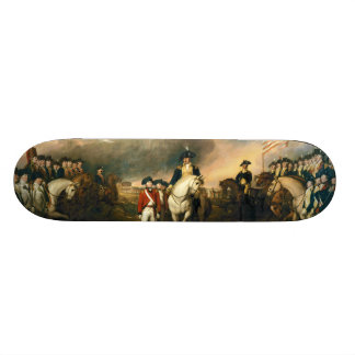 Surrender of Lord Cornwallis by John Trumbull 1820 Skateboard