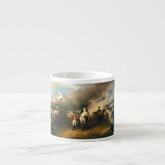 Surrender of Lord Cornwallis by John Trumbull 1820 Espresso Cups