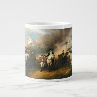 Surrender of Lord Cornwallis by John Trumbull 1820 Jumbo Mugs