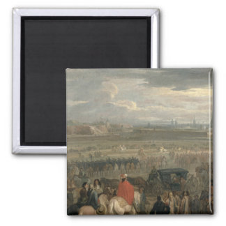 Surrender of the Citadel of Cambrai 2 Inch Square Magnet