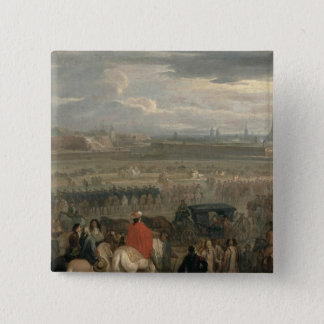 Surrender of the Citadel of Cambrai Pinback Button