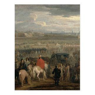 Surrender of the Citadel of Cambrai Postcard
