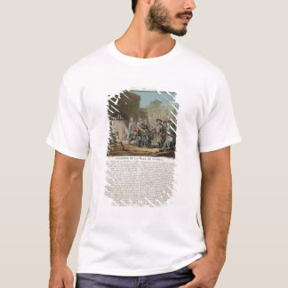 Surrender of the city of Madras, 1746, engraved by T-Shirt